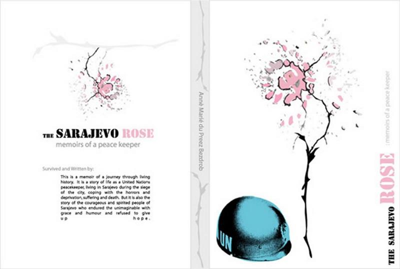 Book Cover Forros S : Sarajevo rose book cover iaminawe